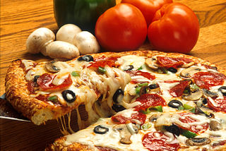 Marvel at the precision of the ingredient placement on this Precise Pizza.