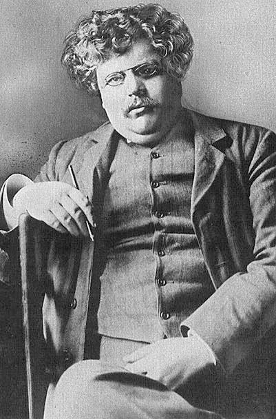 Public domain image. Available at http://commons.wikimedia.org/wiki/File:G._K._Chesterton.jpg#mediaviewer/File:G._K._Chesterton.jpg.