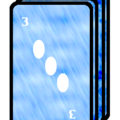 A Photograph of the Trick Card