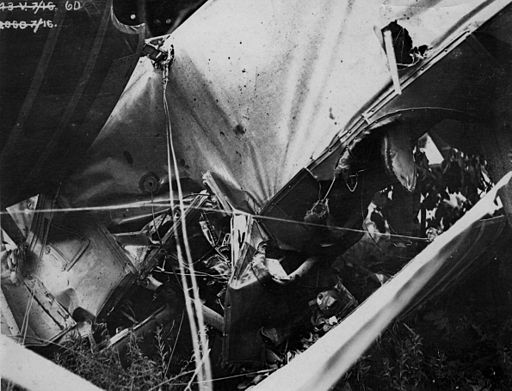 Public Domain image by George Johnson. Available at http://upload.wikimedia.org/wikipedia/commons/b/b9/Plane_crash.jpg
