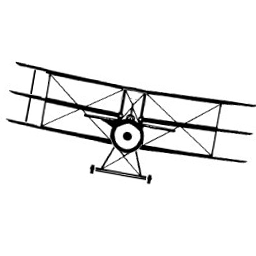 Triplane image based on a public domain image by Dryke, available at http://commons.wikimedia.org/wiki/File:Tripe_silhouette.PNG.