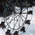 Upside-down Ferris wheel