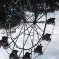Upside-down Ferris wheel