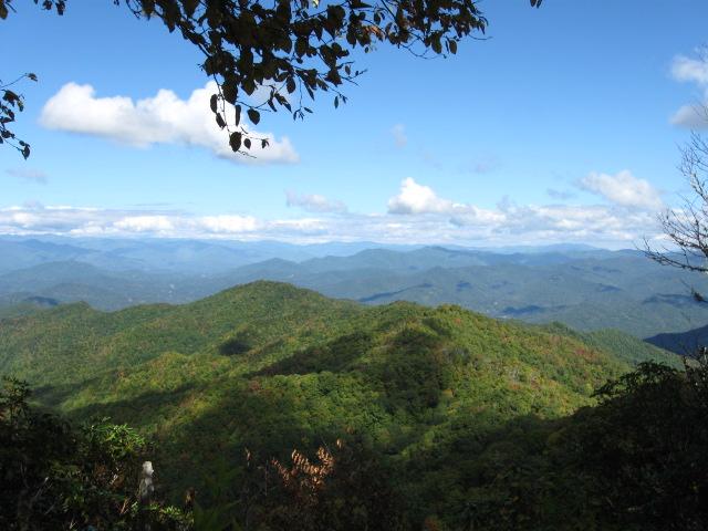 A pleasant mountain scene