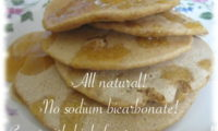 Pewter Pan Pancakes taste great with high-fructose corn syrup!