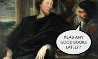 Man 1: Read any good books lately?