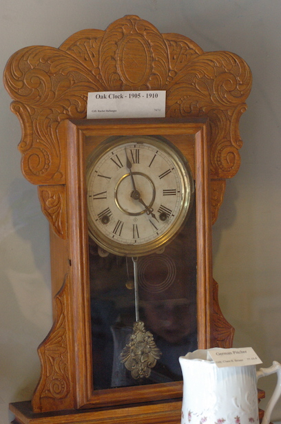 Photo of Oak Clock from early 1900s.