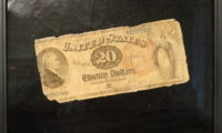 Twenty Dollar Bill by John Haberle, 1890