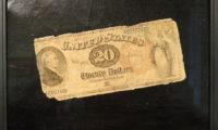 Twenty Dollar Bill by John Haberle, 1890